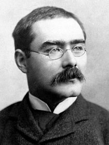 Photo portrait of Rudyard Kipling