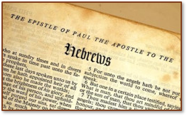 Hebrews title page