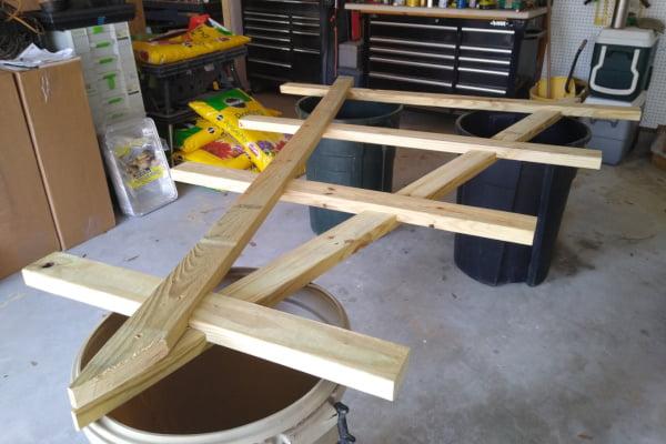 A-frame assembly