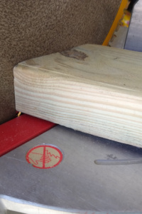 Leg base cut - 15 degrees