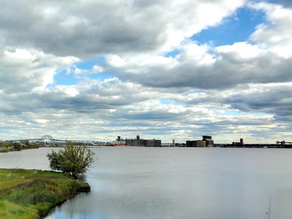 St Louis Bay at Duluth, MN