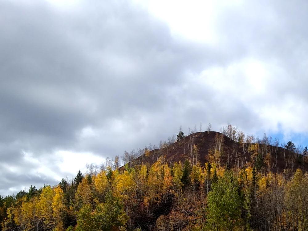Iron Range - hill of iron ore