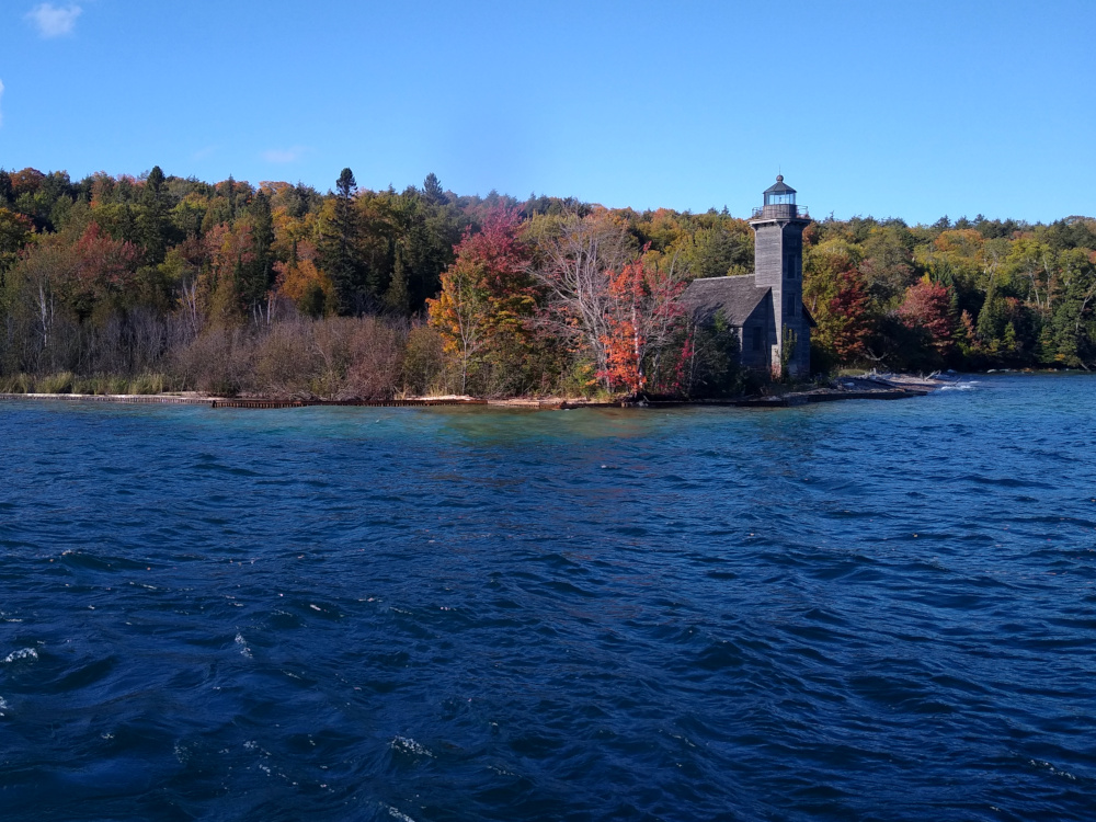 Disused Grand Island Lighthouse Built in 1867
