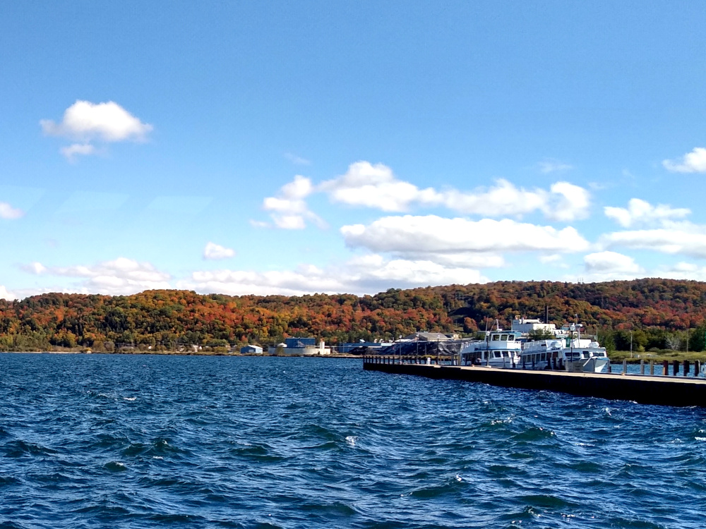 Heading Outbound from Munising