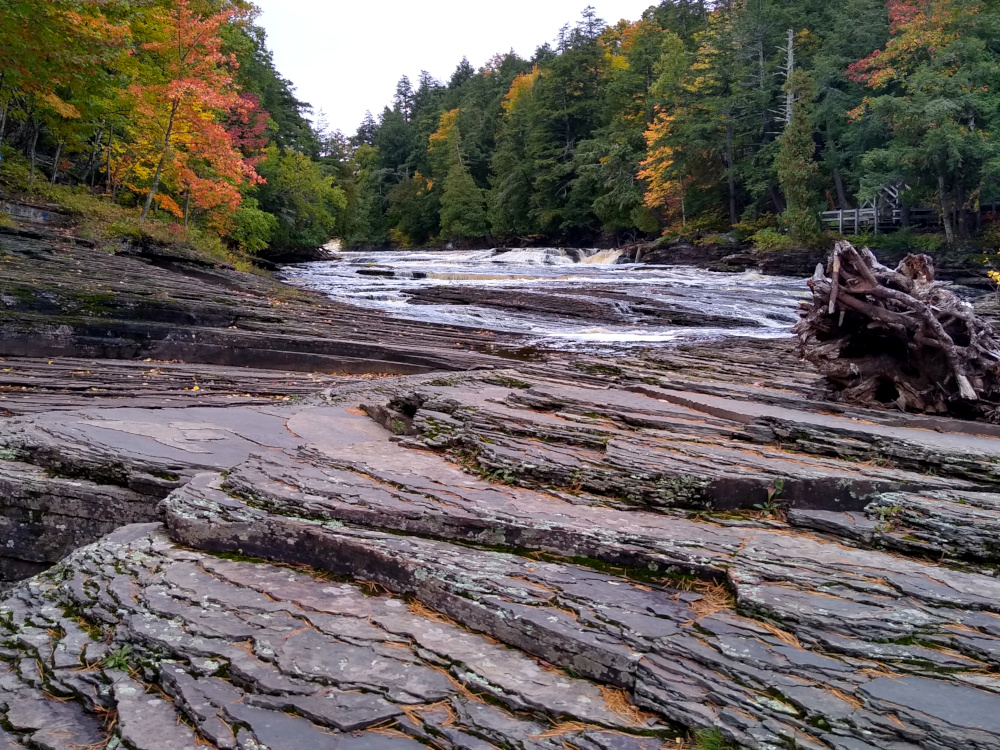 Porcupine Mountain Wilderness - Presque Isle River