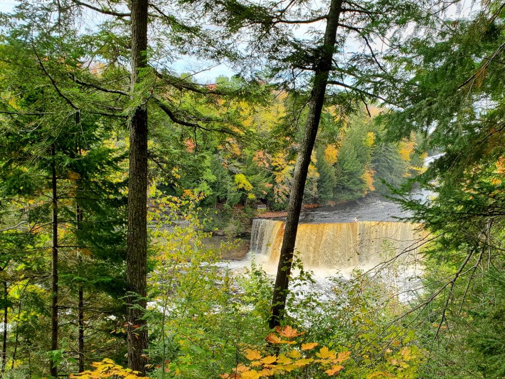 Tahquomenon Falls upper falls